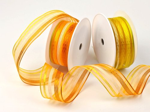Frühlingsband - 40mm - 20m - orange